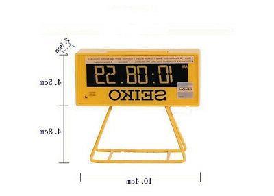 Seiko Countdown Style LCD digital Alarm beep snooze