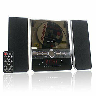 craig vertical cd shelf system with am