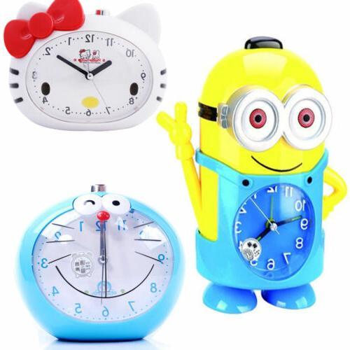 cute cartoon voice alarm clock minions kitty