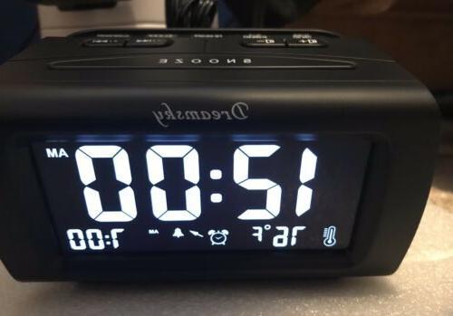 DreamSky Decent Alarm FM USB Charging, Temperature,