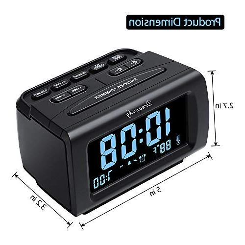 Radio USB for Snooze, Sleep Timer.