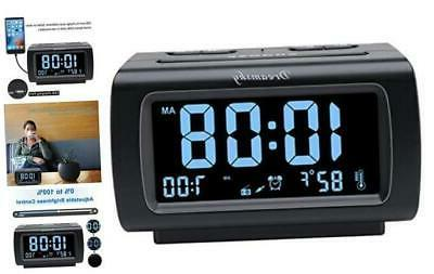 decent alarm clock radio with fm radio