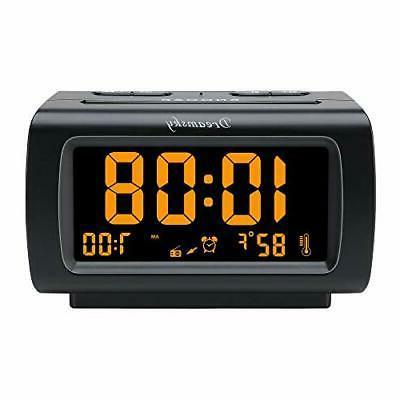 deluxe alarm clock radio with fm radio