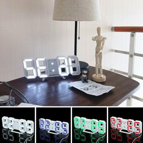 Digital Clock Snooze USB