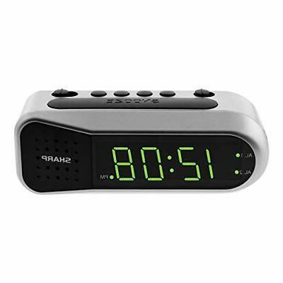 digital alarm clock ascending begins faintly