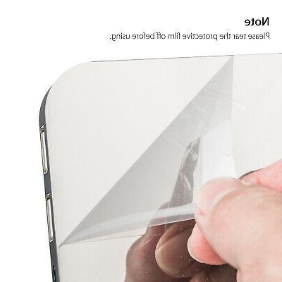 Digital Alarm LED Display Portable Modern Operated Mirror