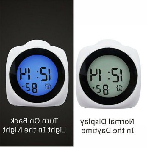 Digital Alarm With LED Projection