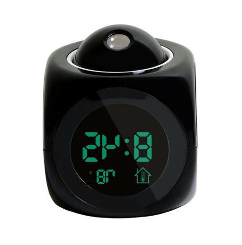 Digital Alarm With Talking Projection Temperature