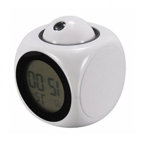 Digital Alarm Clock With Voice LED