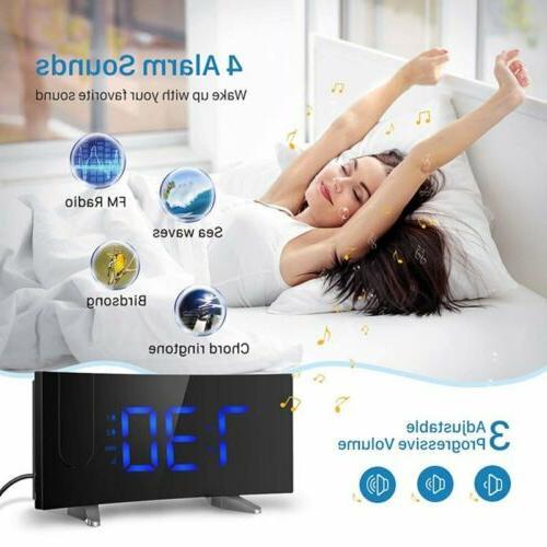 Digital Alarm Bedroom Dual Alarms SNOOZE