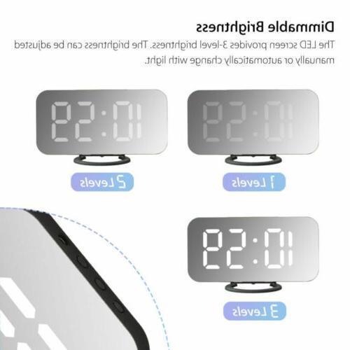 LED Snooze AM USB Port