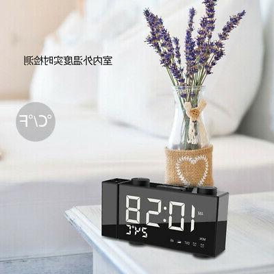 6 Inch Digital Clock Frequency Volume Powers G0F2