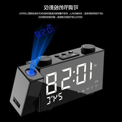 6 Digital Alarm Clock Adjust Frequency Volume G0F2