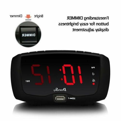DreamSky Alarm Radio Radio,1.4 Large Number Display