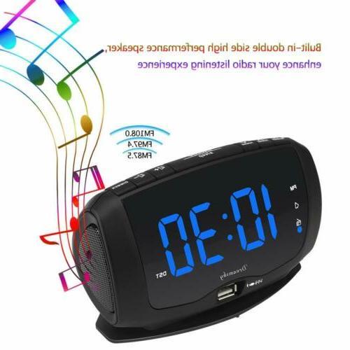 DreamSky Alarm Radio FM Radio,1.4 Large