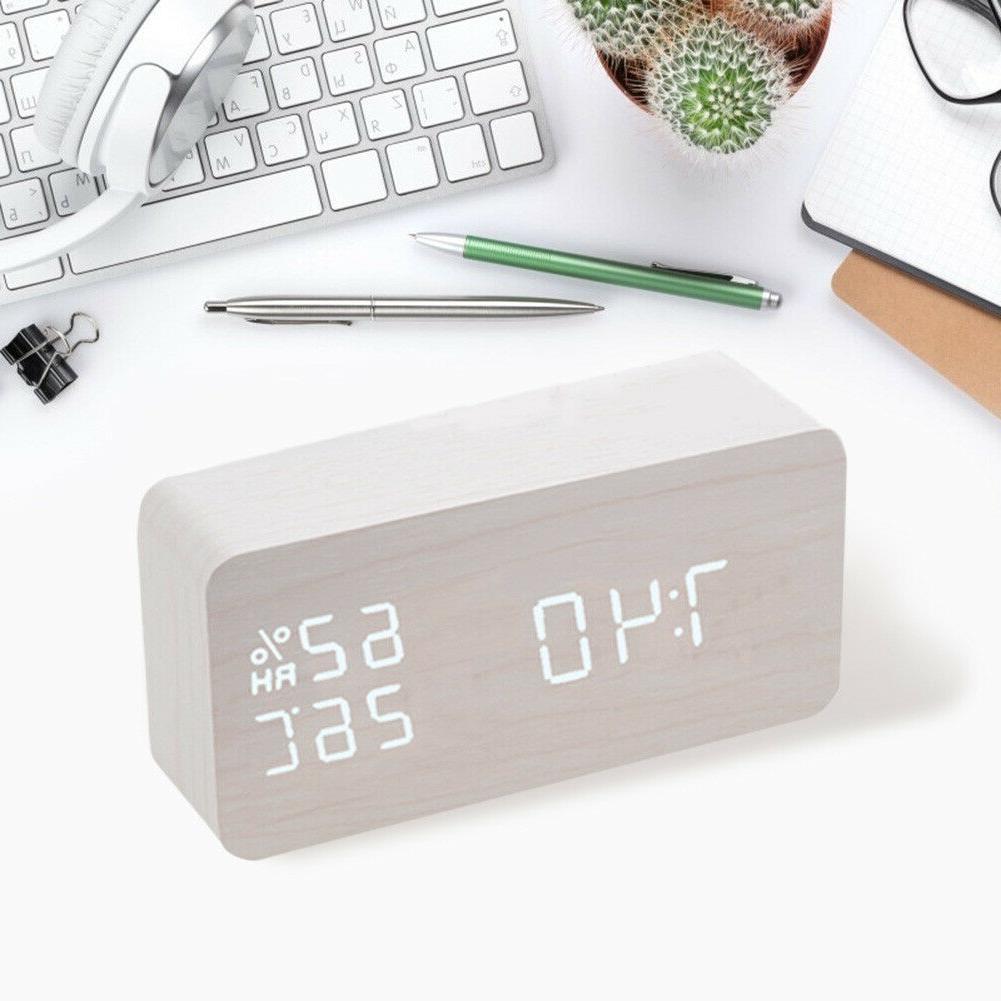 Digital Alarm LED Voice Control
