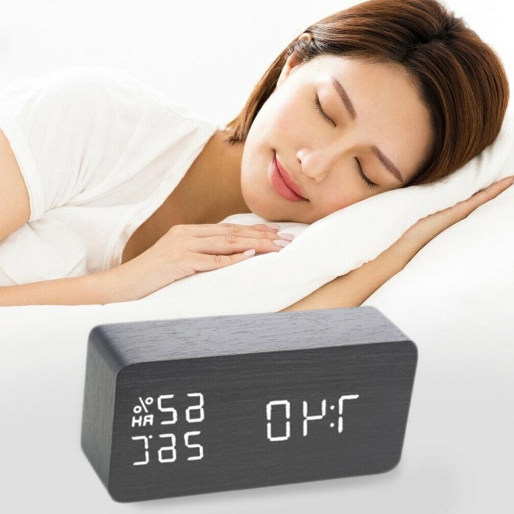 Digital Clock LED Electronic Control Table