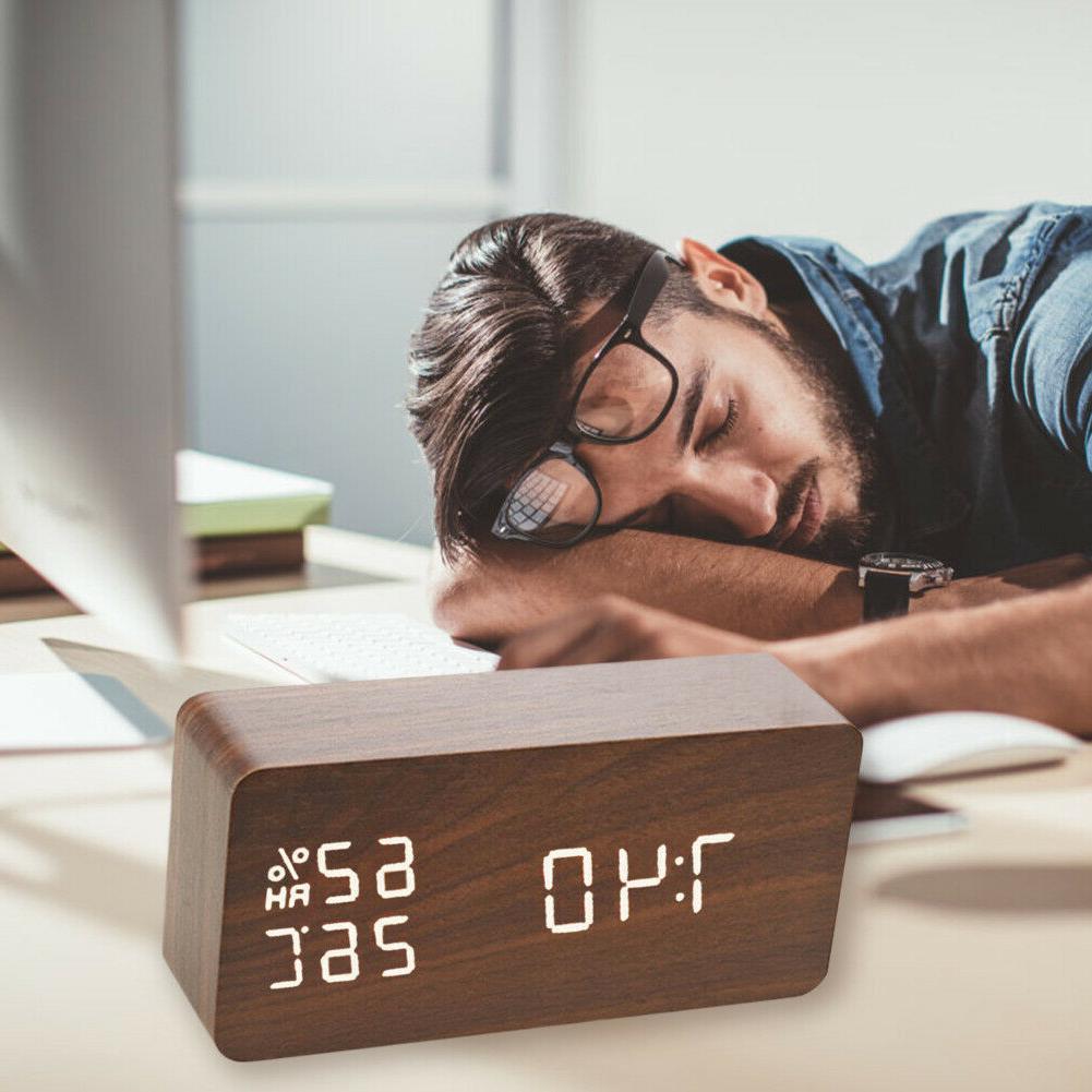 Digital Clock LED Voice Control