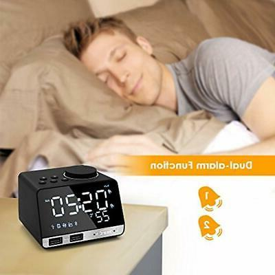 Digital Desk Clocks Alarm LED