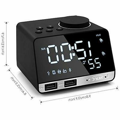 Digital & Clocks LED Bluetooth Speaker,