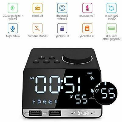 digital desk and shelf clocks alarm radio
