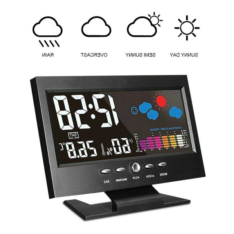 LED Calendar Thermometer Display