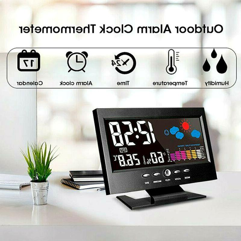 LED Alarm Calendar Thermometer Display