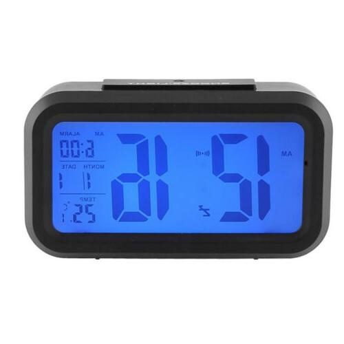 Digital Alarm Clock with Backlight Control RF