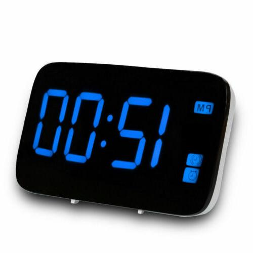 Digital LED Large Powered Voice Control Clocks