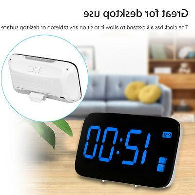 Digital LED Large Snooze Powered Control