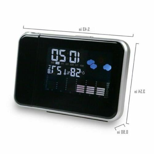 Digital Alarm Weather Backlight