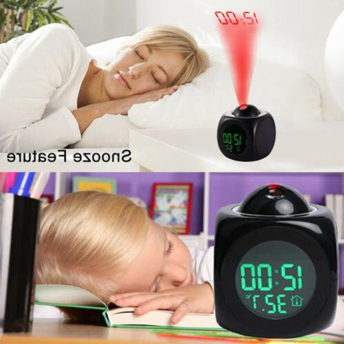 Digital Clock With LCD Voice Talking