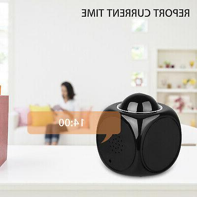 Digital Alarm With LCD Display Voice Talking LED Projector