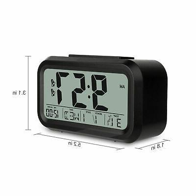 Digital Snooze Clock Backlight Thermometer