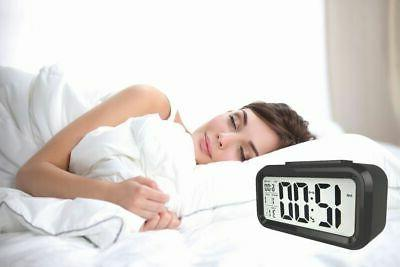 Digital LED Alarm Clock Thermometer