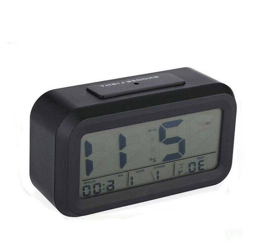 Digital Clock Backlight Thermometer