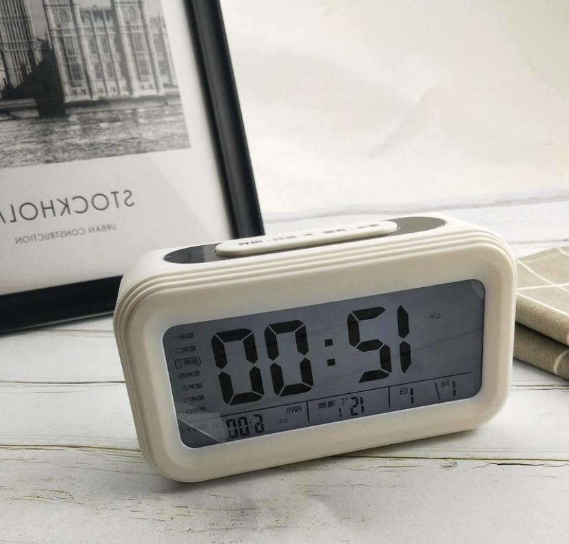 Digital Clock Calendar Thermometer Temperature