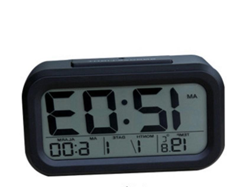 Digital Clock Thermometer Temperature