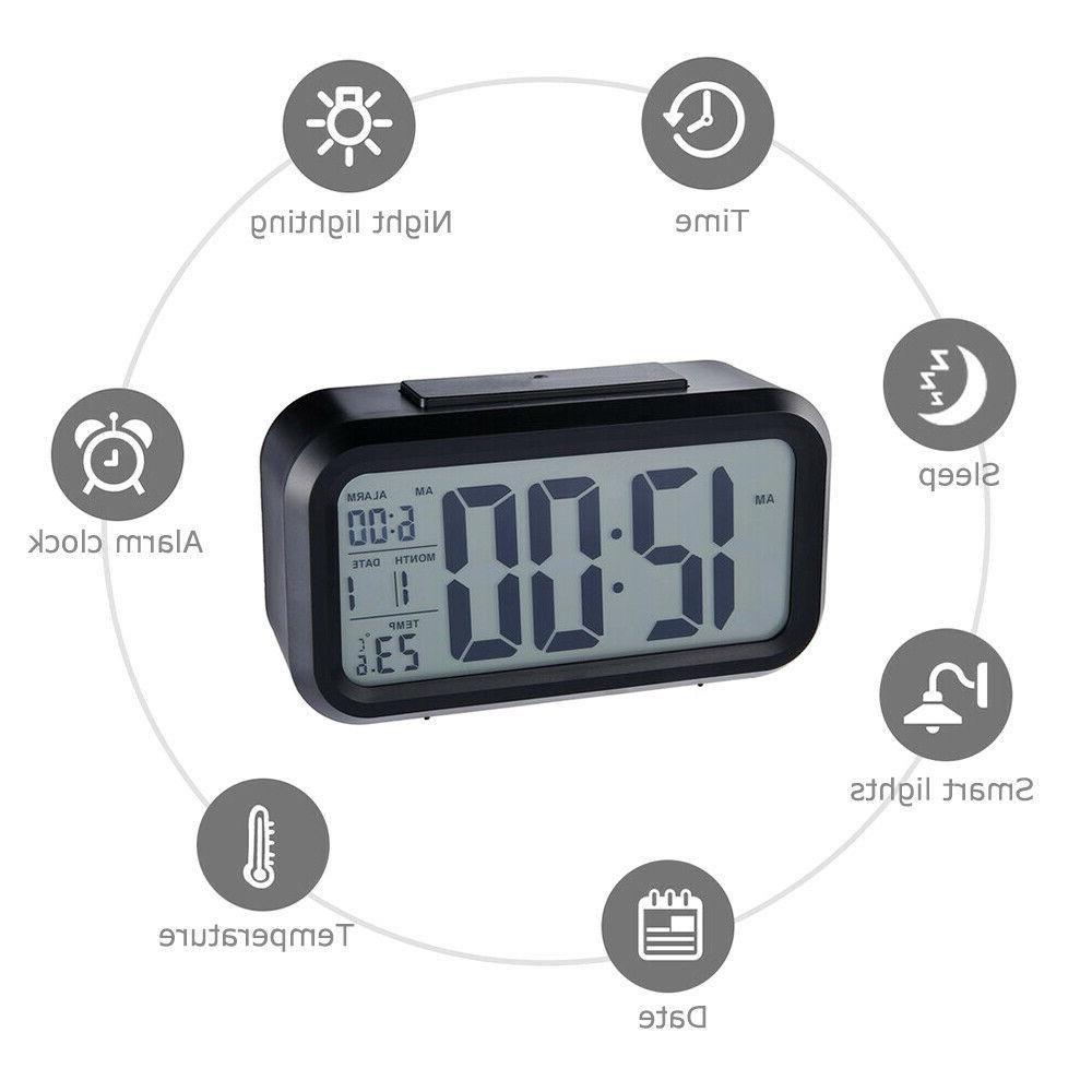 Digital LED Alarm Snooze Calendar