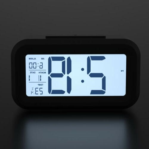 Digital Clock Backlight Time Calendar