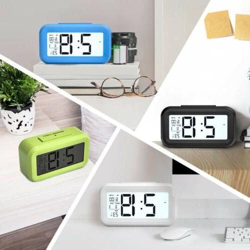 Digital LED Clock Temperature