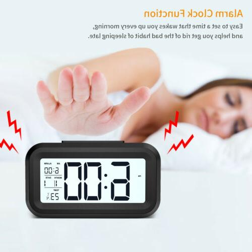 Digital Snooze Clock Backlight Time