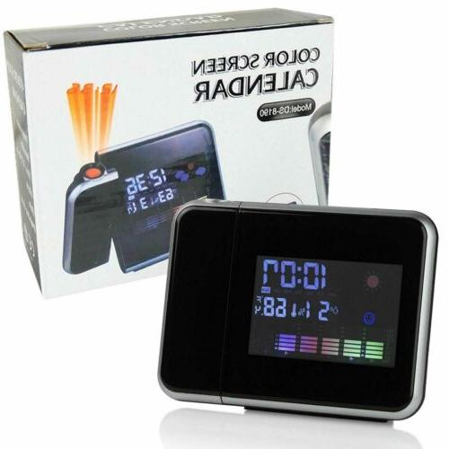 Digital Weather Thermometer Snooze LED Backlight
