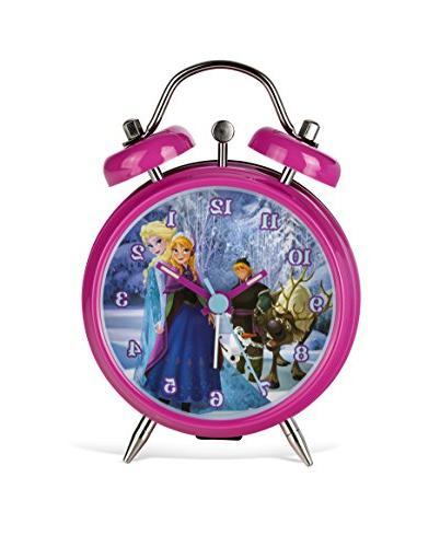Disney Frozen Mini Twin Bell Alarm Froz4