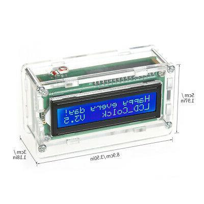 DIY Kit Time Display with W5X9