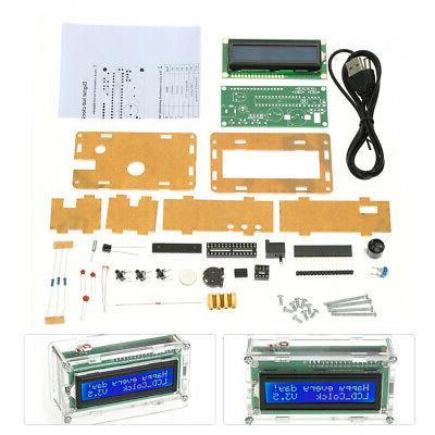DIY Digital LCD Kit Temperature Display