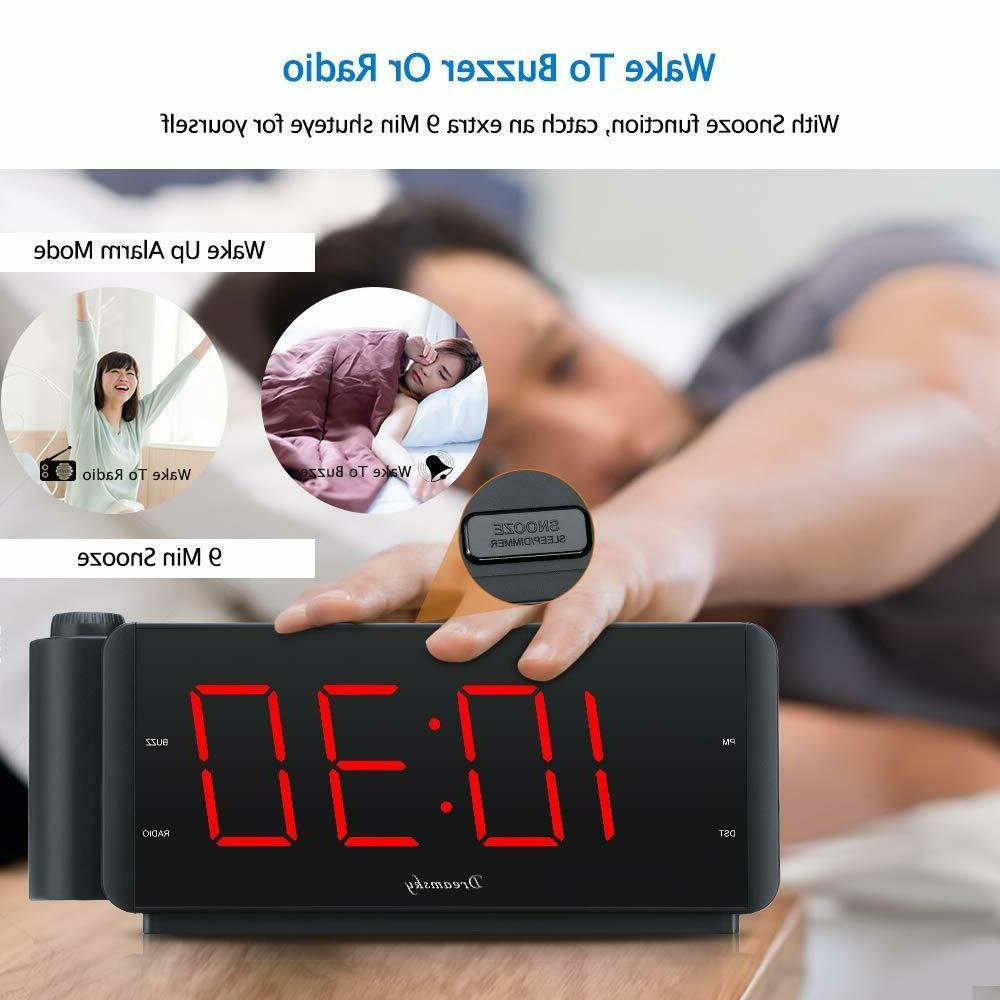 DreamSky Projection Radio with Port