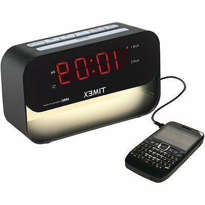 Timex T128B Table Clock - Digital - Quartz