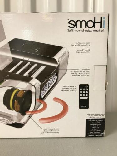 iHome Alarm Radio iPod/iPhone 30-Pin Dock