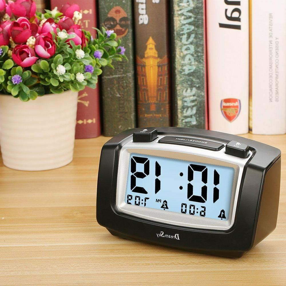 DreamSky Alarm Clock with Large